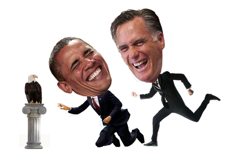 Obama and Romney Love a Good Race